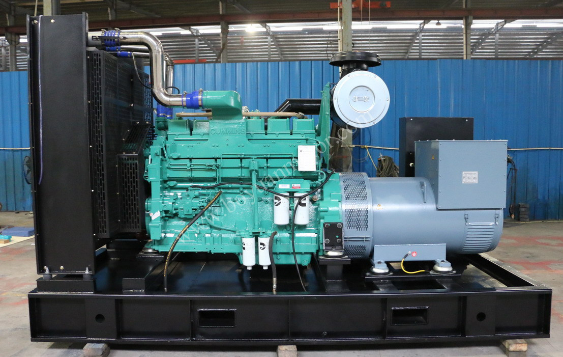 Cummins Diesel Engine Open Type Diesel Generator Set 400kw/500kVA
