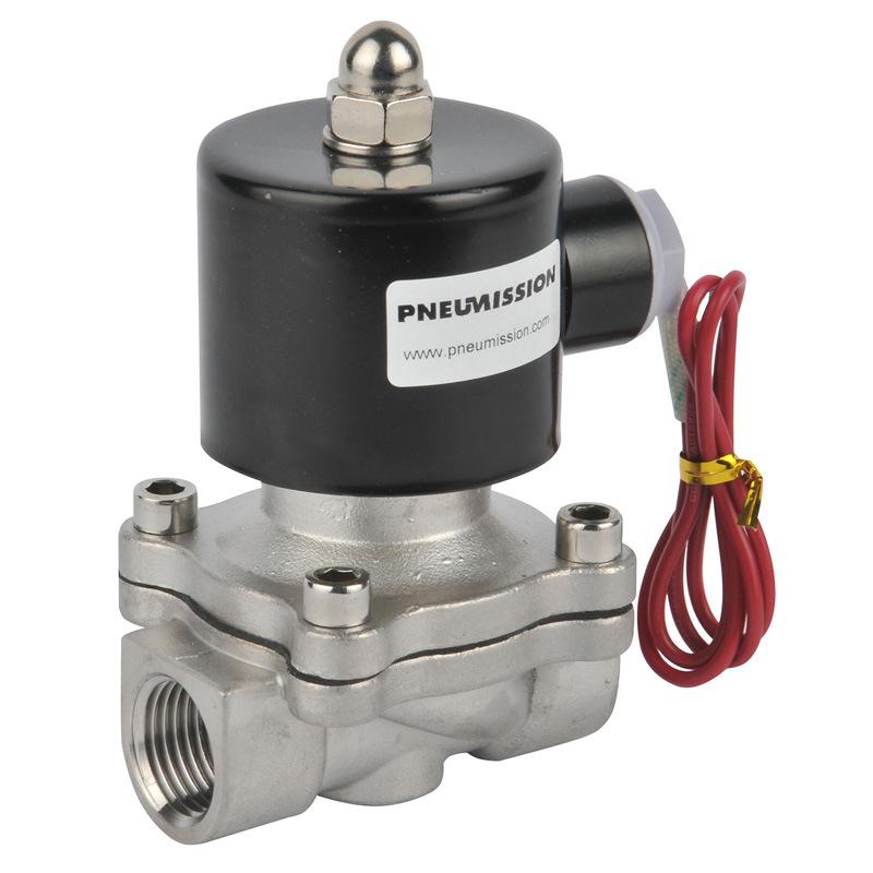 Pneumatic Stainless Steel Solenoid Valves (Brass 2 way valve)