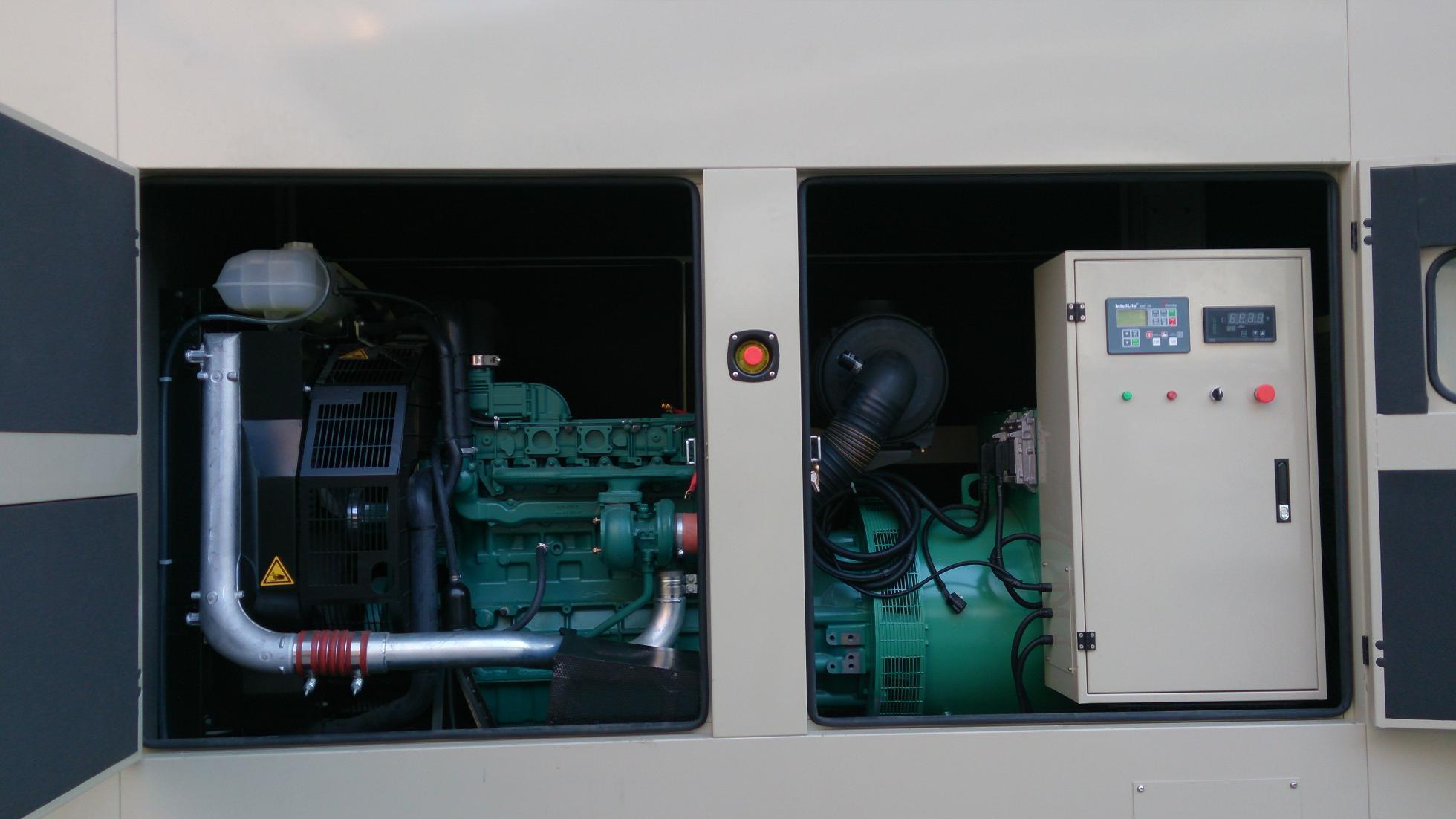 China Guangzhou 250kVA Water Cooling AC Three Phase Diesel Genset