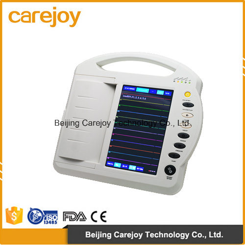 Factory Price Ce Approved Digital 12-Channel Color Touch-Screen Electrocardiograph ECG (EKG-1212A) -Fanny