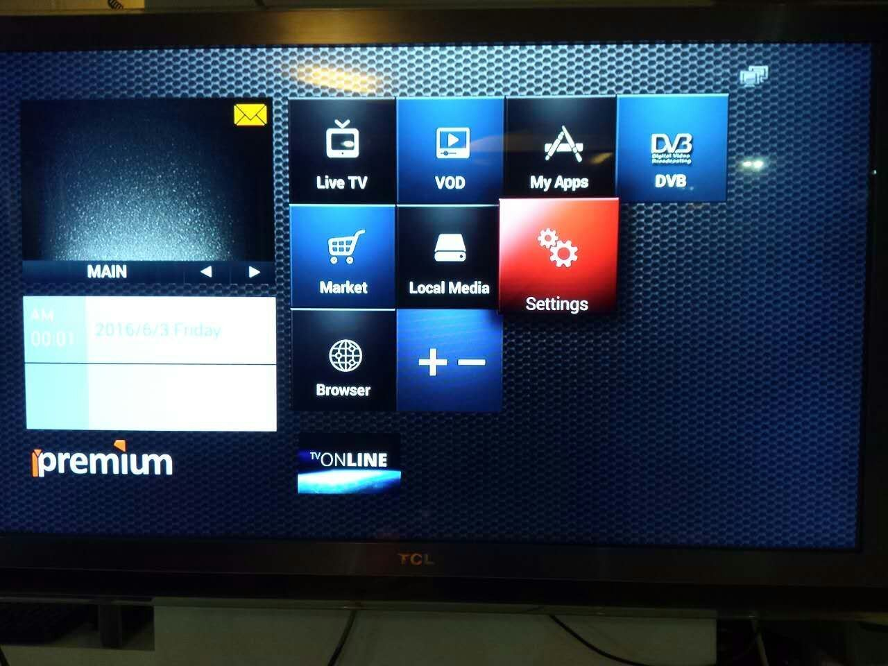 New Upgrade Digital Decoder I9 with Worldwide Channels