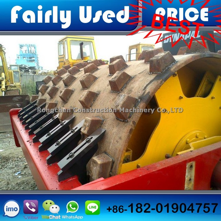 Second Hand Dynapac Ca30pd Vibratory Compactor Roller 12 Ton Padfoot