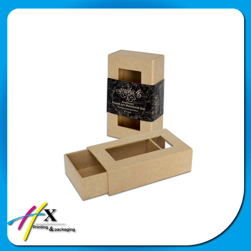 Sliding Custom Pull out Drawer Matt Cardboard Gift Box