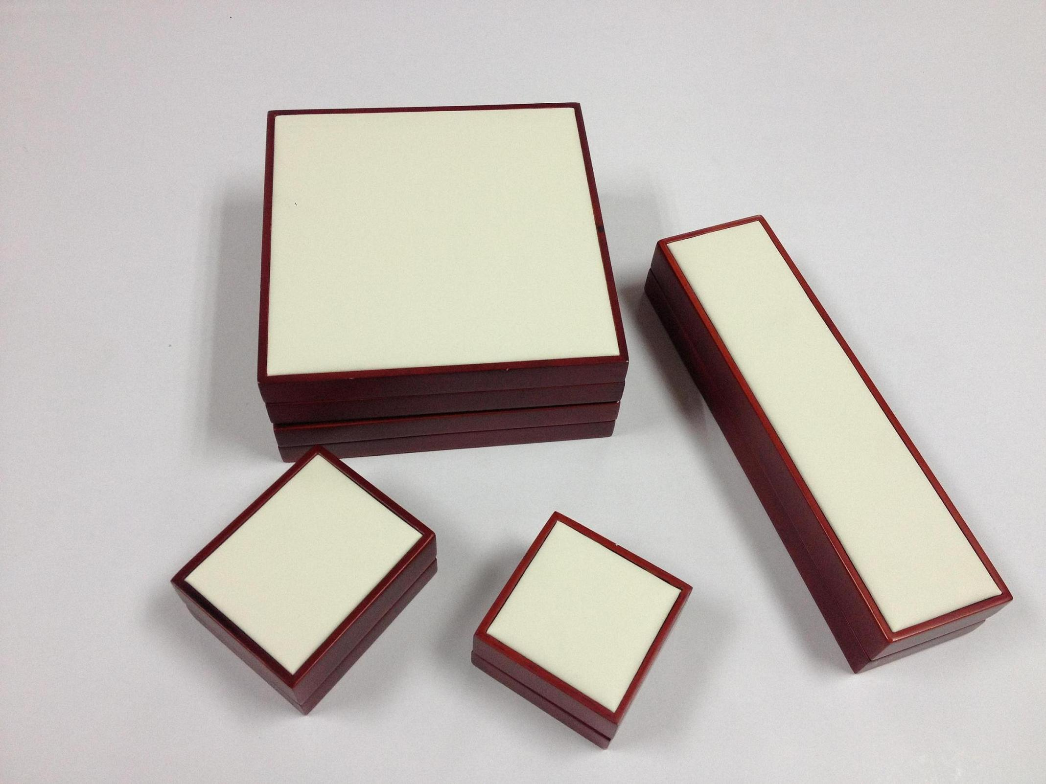 a Set Jewelry Wooden Box
