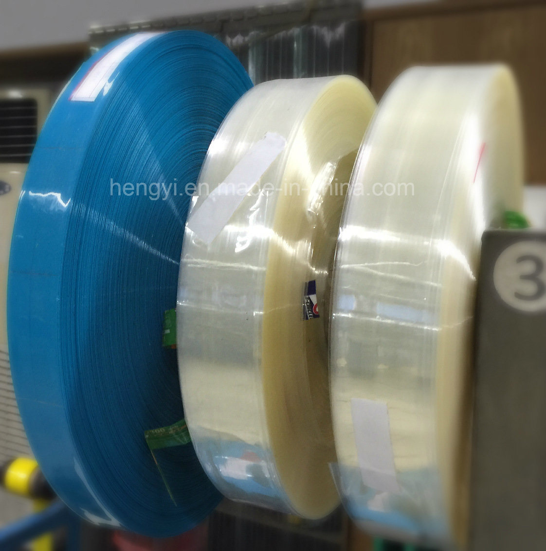 High Quality Clear PVC Heat Shrink Cap/Bottle Neck Seal