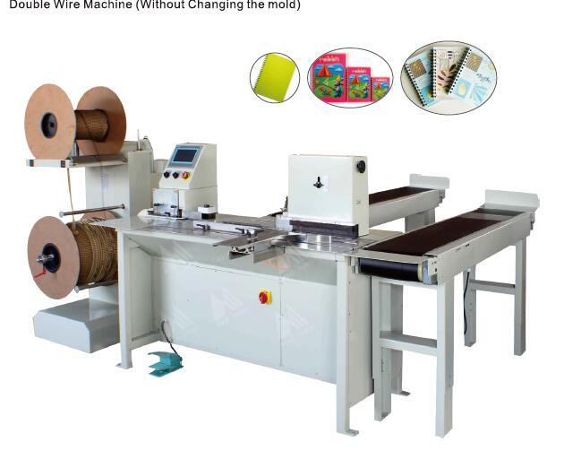 Double Wire Binding Machine Without Changing Mould (HS-SDM360)
