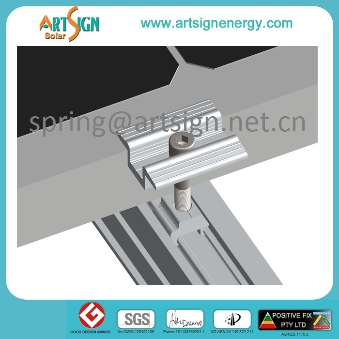 Galvanized Steel Solar Pole Mount PV Panel Support System