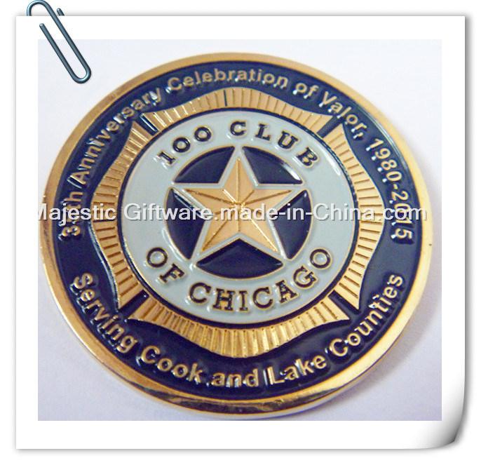 Zinc Die Cast Challenge Coin