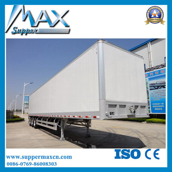 China 4X2 Dry Cargo Box Truck Van Cargo Semi Trailer - China Van Trailer Dump Trailer  sc 1 st  Dongguan Supper Max Special Vehicles Co. Ltd. & China 4X2 Dry Cargo Box Truck Van Cargo Semi Trailer - China Van ... Aboutintivar.Com