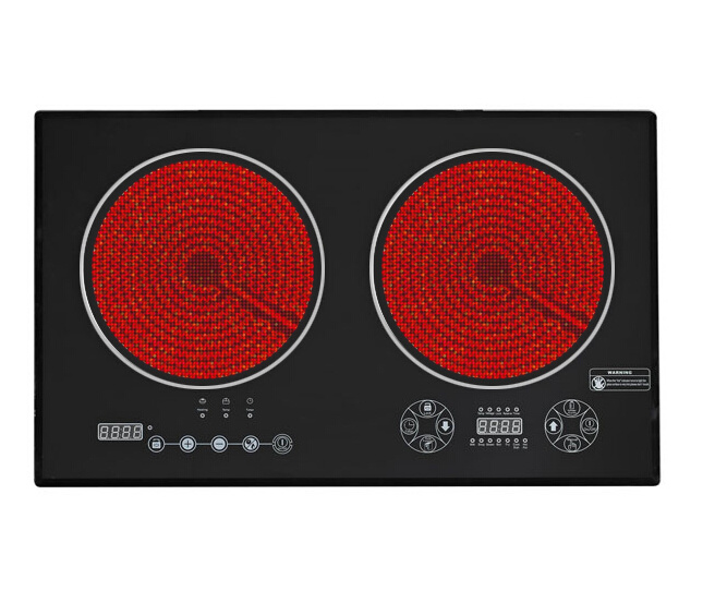 Touch Control Double Infrared Cooker, Induction Cooker (Sb-Icd04)