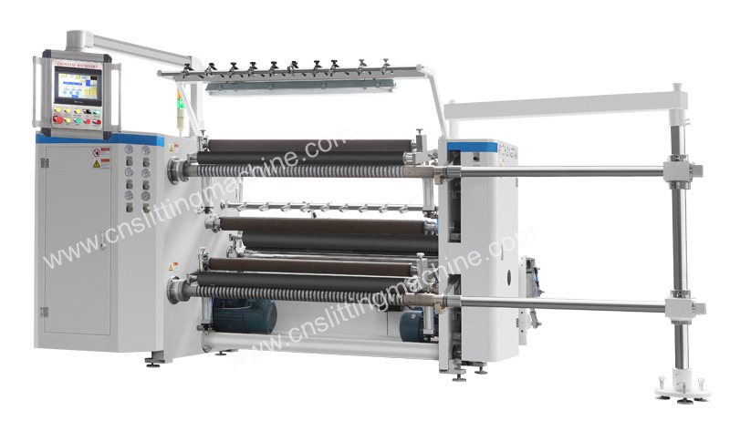 High Speed Slitting Machine for PVC/Pet/BOPP