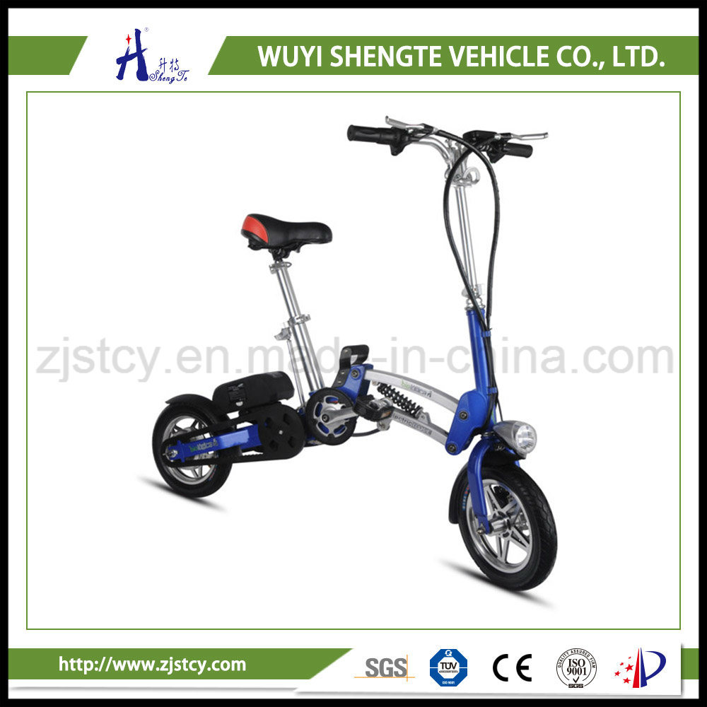 36V 8.8ah 1 Yr Warranty Electric Bicycle 12 Inch Folding Ebike