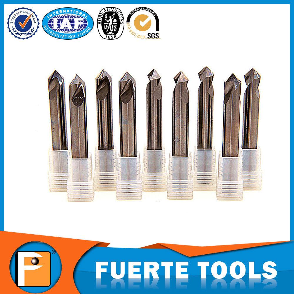 Carbide Spot Drill Bits for Aluminium Processing