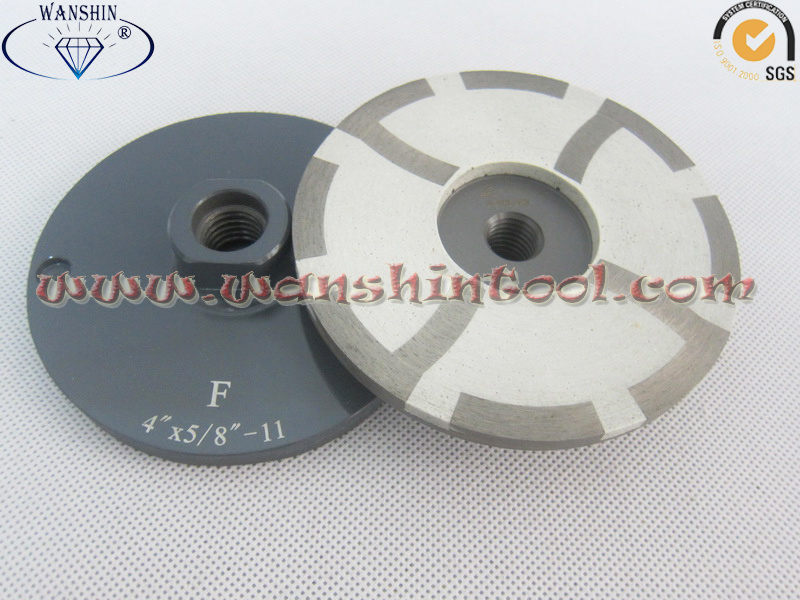 4′′ Resin Filled Cup Wheel for Granite Marble Grinding Disc