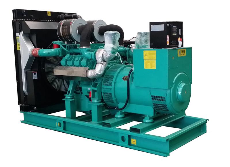 50Hz AC Three Phase Synchronous Brushless Diesel Generator 400kw 500kVA