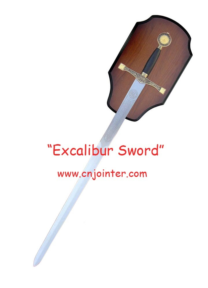 King Arthur Swords with Plaque 120cm