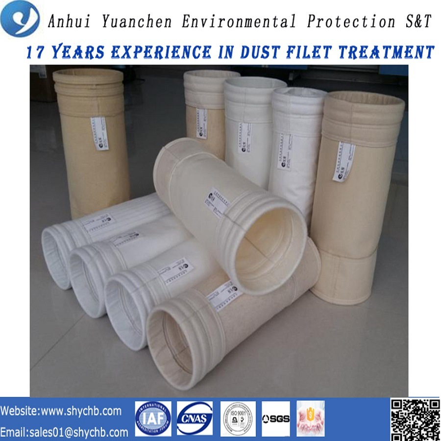 Hot Sale Nonwoven Dust Filter Acrylic Filter Bag for Dust Collection