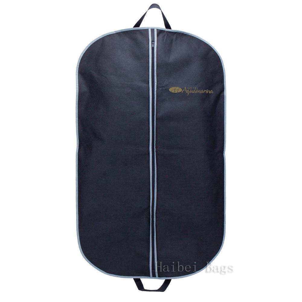 Custom Printed Non Woven Suit Bag, PP Garment Bag (HBGA-49)
