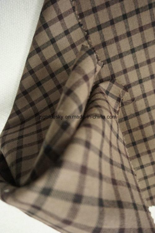 Check Wool Fabric