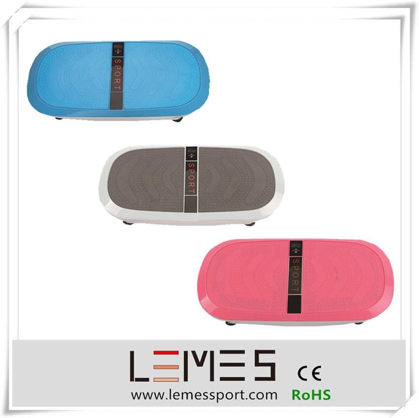 2015 Lemes New 3D Two Motors Ultrathin Vibration Plate Massage Machine
