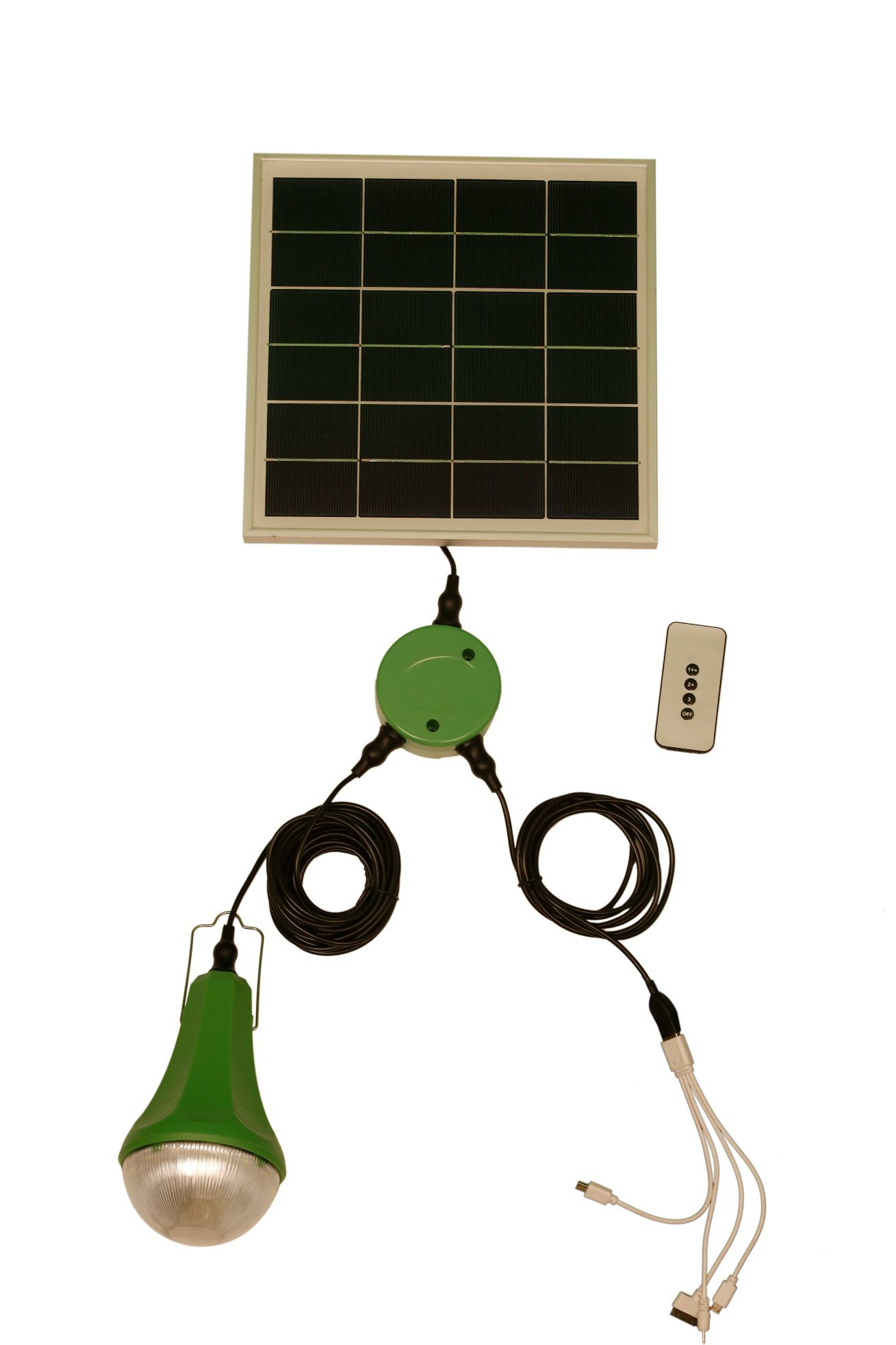 Solar Home Light- Can Charge Mobile Phones and Have Remote Controller