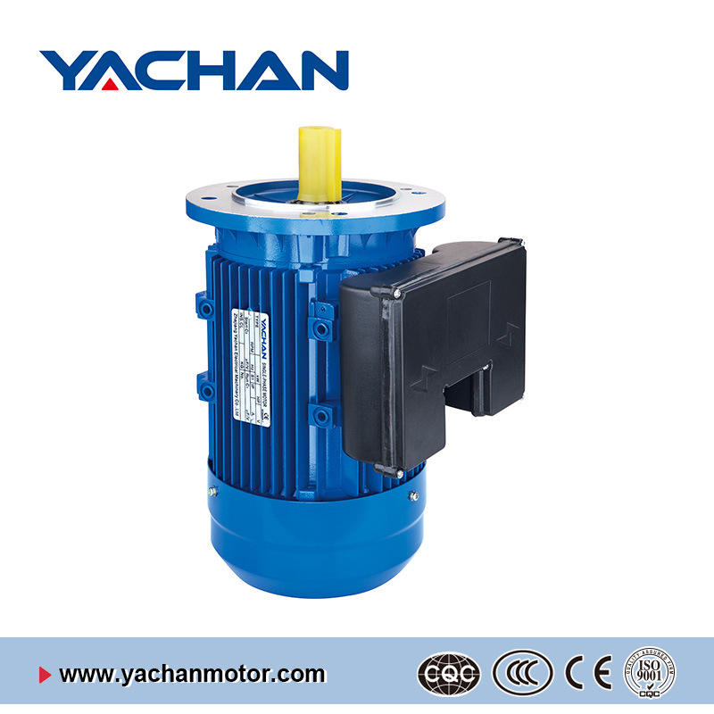 CE Approved Ml Series with Double Capacitors Aluminum Body Single Phase Electric Motor