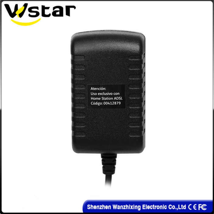 12W AC/DC Adapter with Microphone/Monitor (WZX-365)