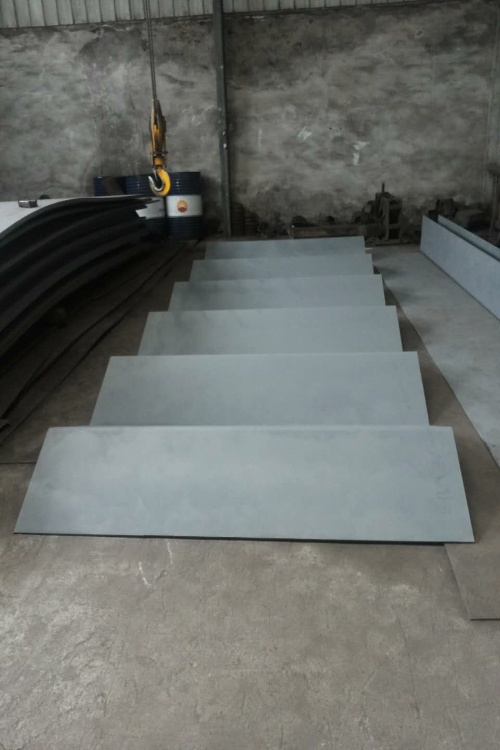 Bending Formed Steel Sheet