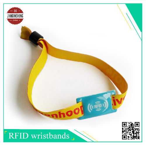 Sublimation Smooth Band with Soft RFID PVC Labe