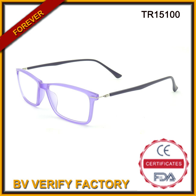 Tr15100 Fashion Adult Tr90 Optical Glasses Best Quality
