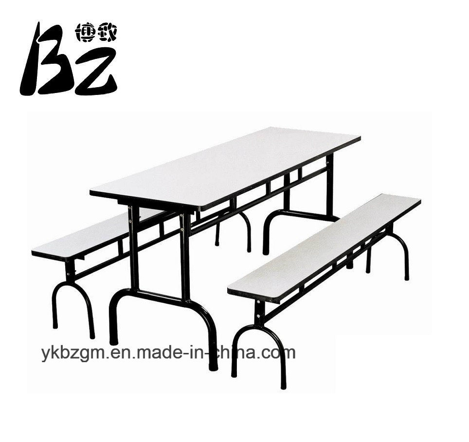 Steel Wood Dining-Table/School Furniture (BZ-0131)
