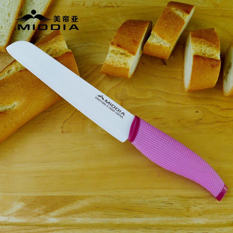 6 Inch Ceramic Bread Knife/Slicing Knife