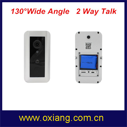 Motion Detection WiFi Video Doorbell Support IR and 2 Way Intercom