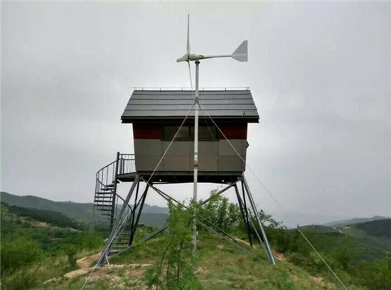 1000W New Product Horizontal Axis Wind Power Generator