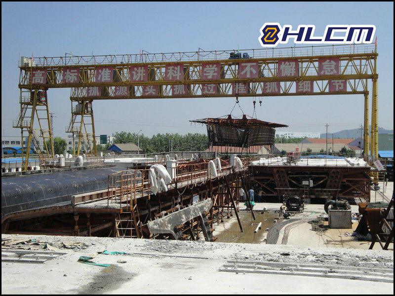 Precast Yard Gantry Crane for PC Girder (HLCM-3)