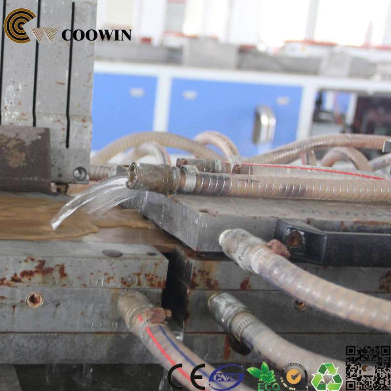 PVC PP PE Wood Plastic Profile Making Machine