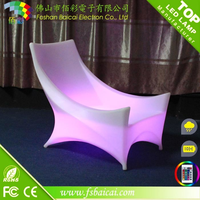 LED Light Outdoor Sofa (BCR-159L)