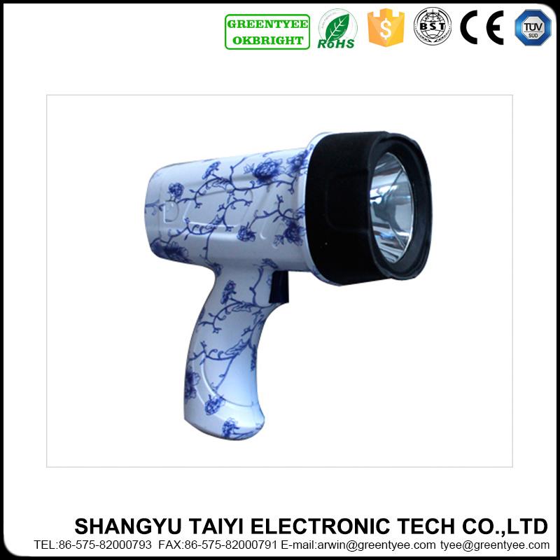 Professional Manufacturer Rechargeable LED Handheld Spotlight
