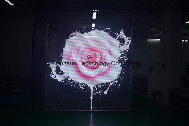 Cheap Price Transparent LED Display LED Video Wall