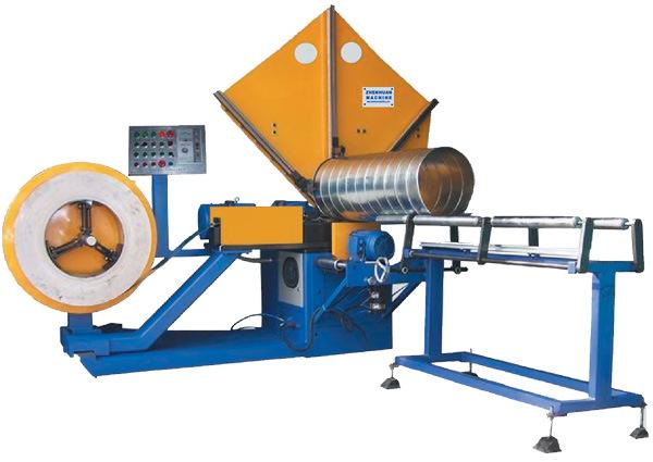 PLC Control Spiral Tube Forming Machine (ZHTF-1500I)