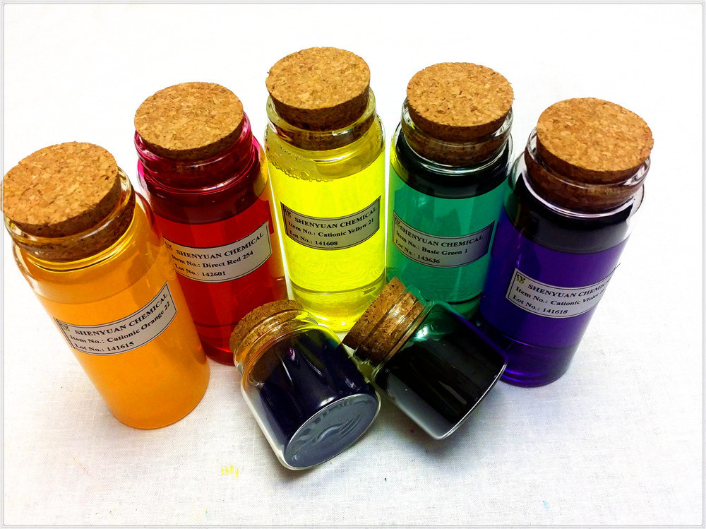 Dyestuff: Liquid Basic Violet (10) for Paper