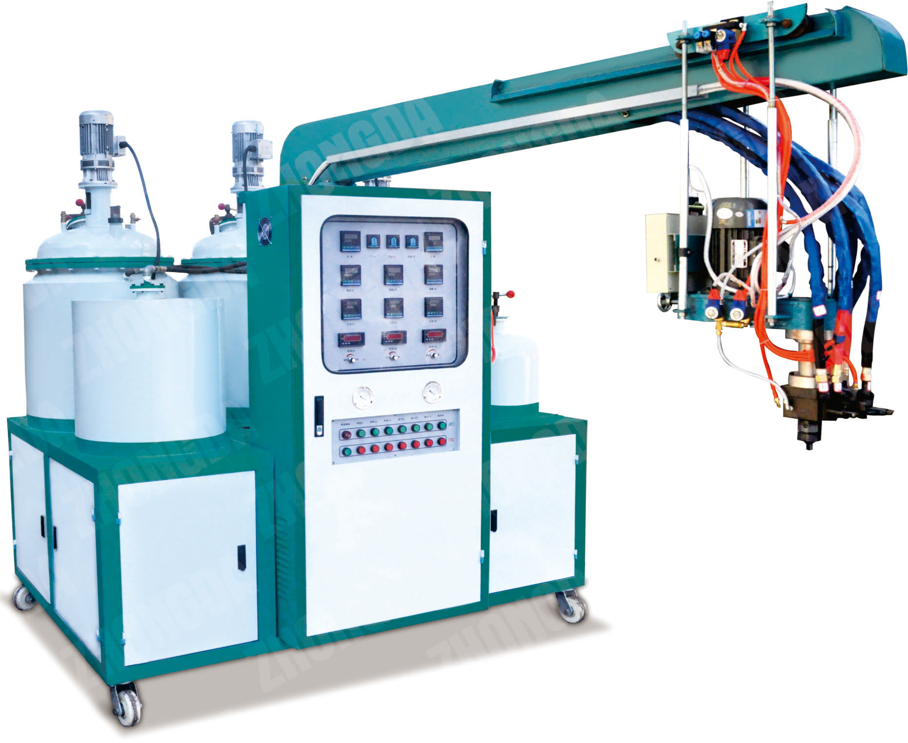 Polyurethane Pouring Shoe Making Machine