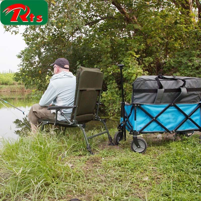Folding Wagon Stroller High Landscape Cart Can Sit Can Lie Light Foldable Baby Cart