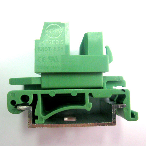 Plugable DIN Rail Terminal Block