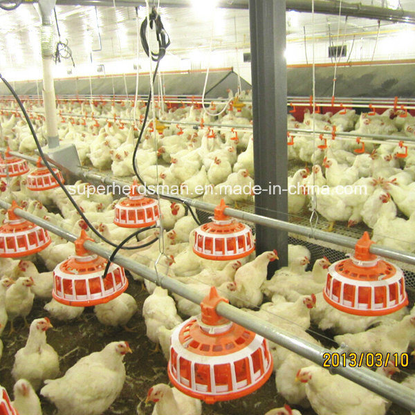High Quality Poultry Equipment PP Pan Feeder for Breeder