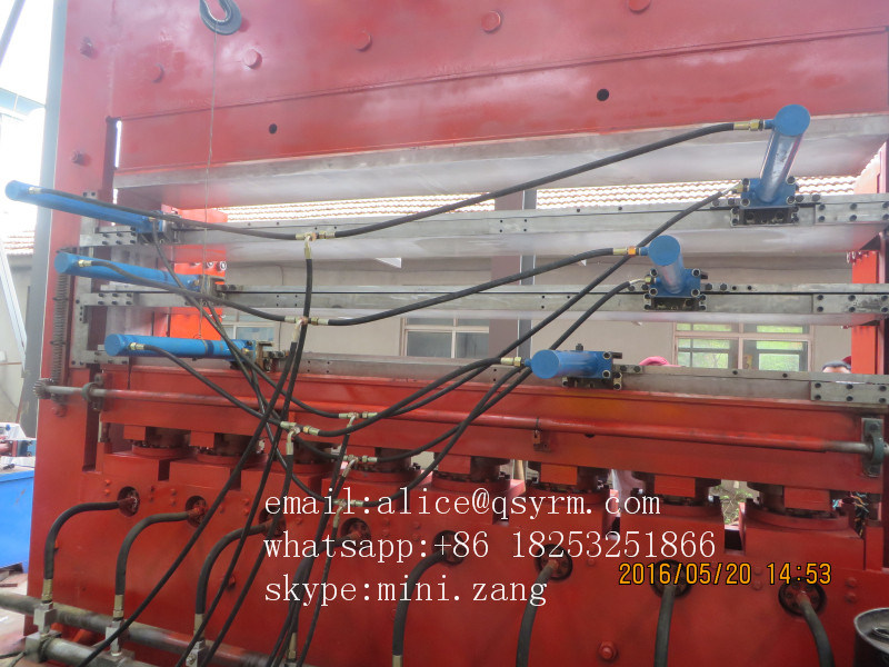 Tire Tread Vulcanizing Machine for Tire Retreading Process