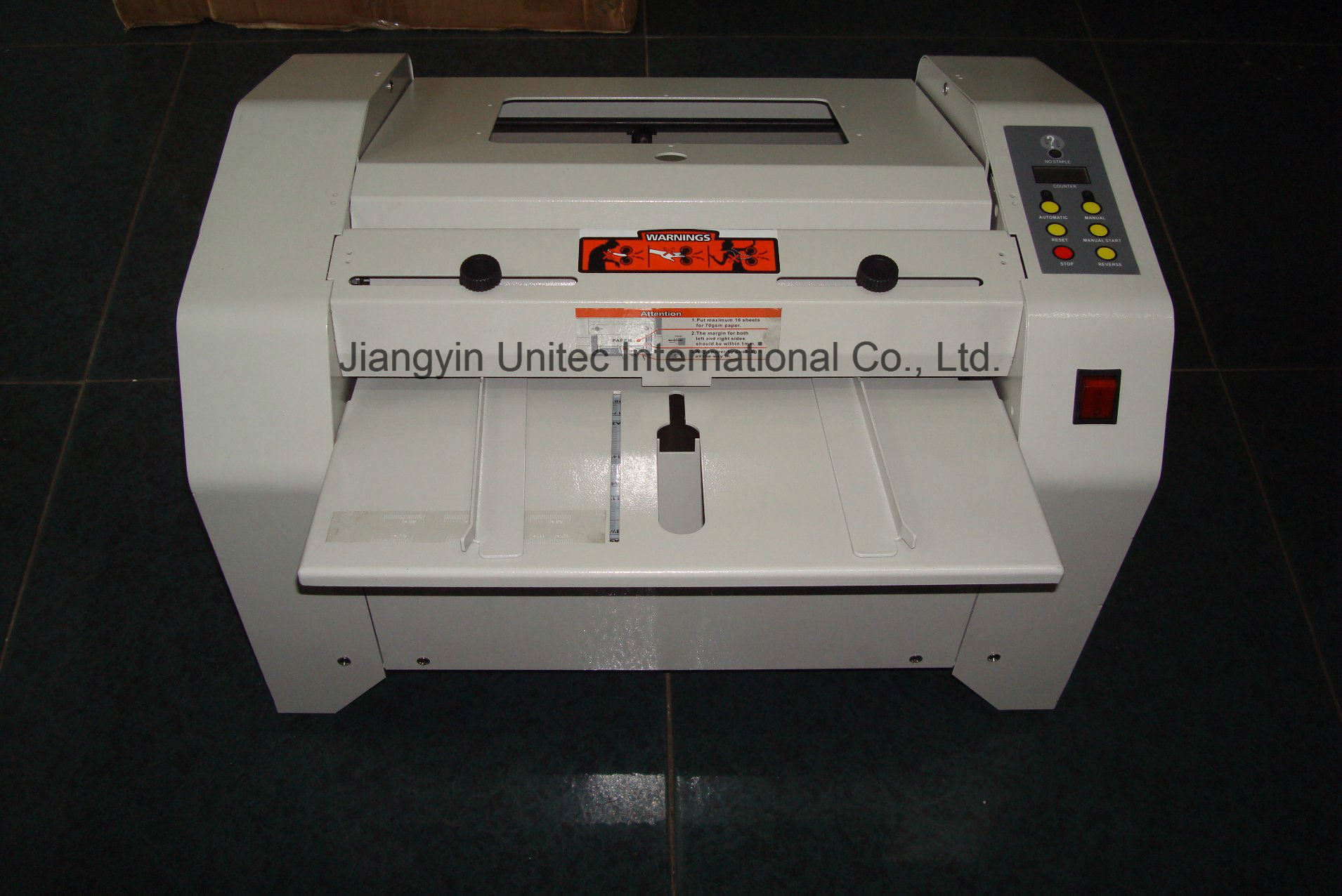 A3 Electrical Book Binding Machine Booklet Maker HD-Zy2