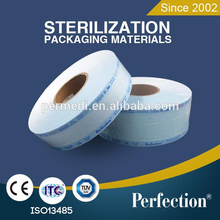 Flat Sterilization Roll Pouch Reel
