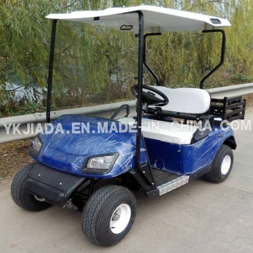 2 Seat Electric Power Sightseeing Karts with Mini Truck (JD-GE501C)