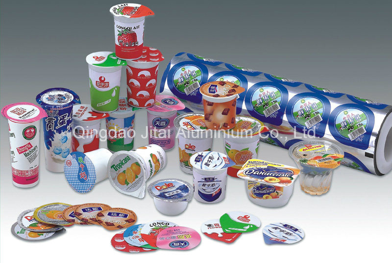 Lidding Foil for Yoghurt or Milk